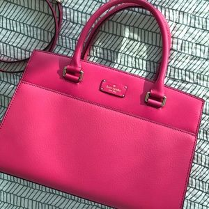 Kate Spade Pink Leather Bag